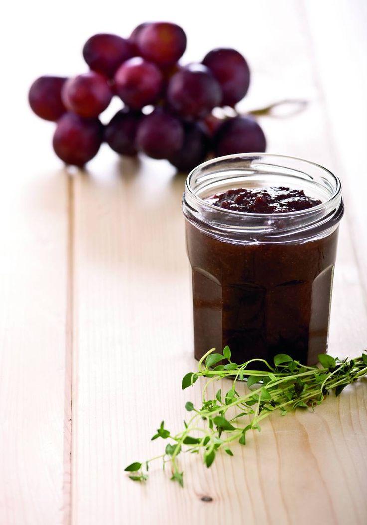 Confettura di uva e timo - Cucina Naturale