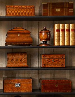 Collection of souvenir wooden boxes; Some carved and woodburnt as well.  I collect boxes and it would be nice to have these....b