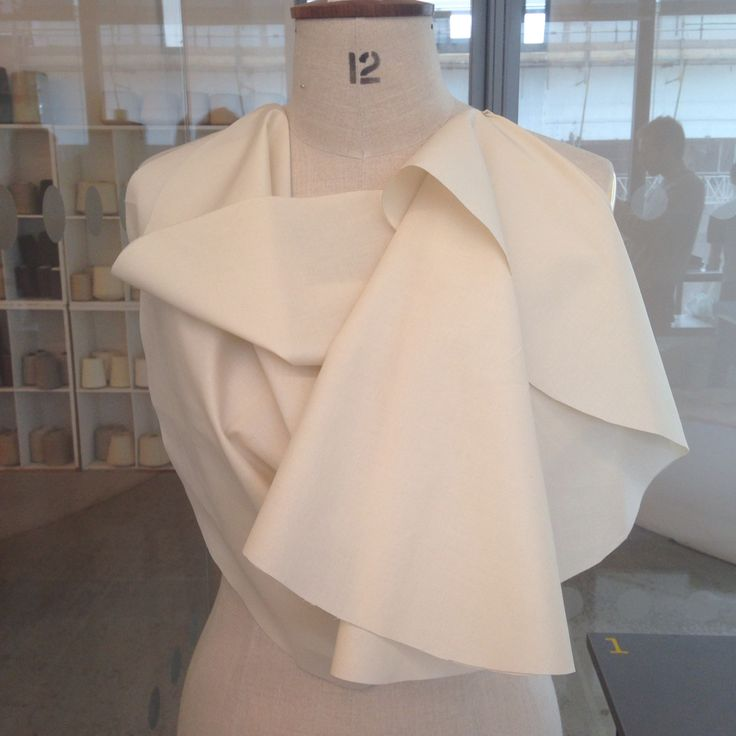 Draping Development - Angular Shapes by Aymie Black