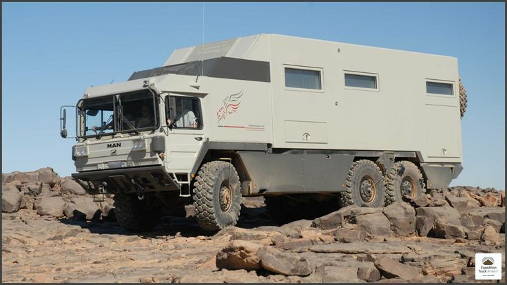 MAN KAT A1 6x6 Expedition Truck in Italy
