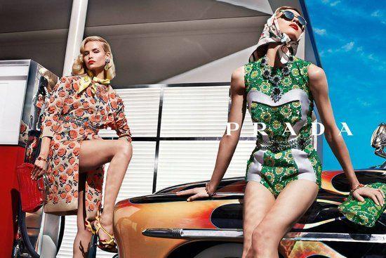 Prada spring 2012 ad campaign | Steven Meisel
