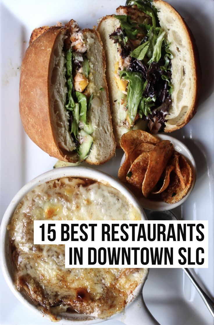 A local's list of the 15 Best Restaurants in Downtown Salt Lake City! Visit femalefoodie.com for the full post!