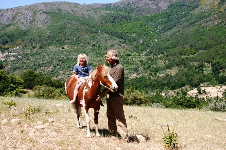 Horse-riding. Mountain Beiras, Portugal. http://www.hideawayportugal.com/modules/property/listing-1029.htm