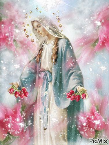 Blessed Virgin Mary please protect my family and friends. Amen