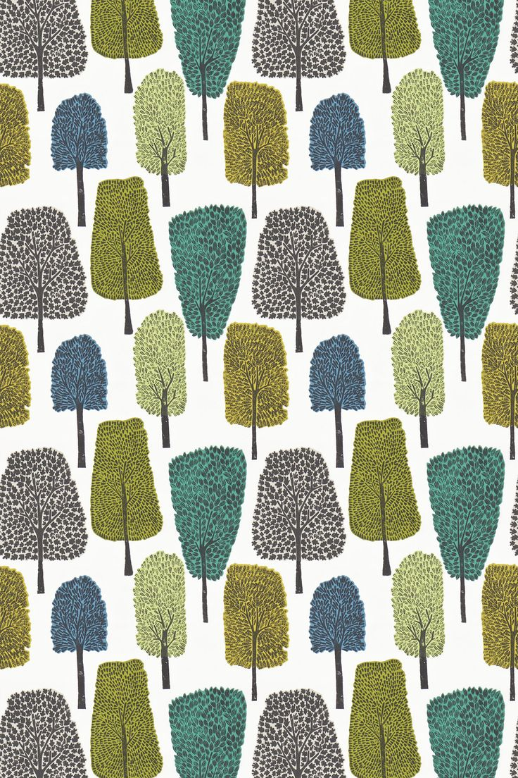 Cedar Slate, Apple and Ivy fabric by Scion