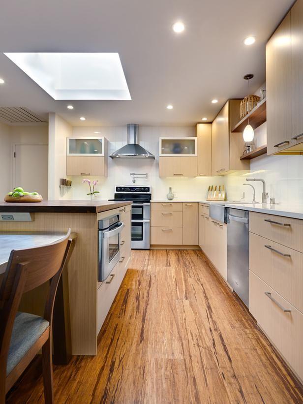 Contemporary Kitchen Flooring 17 best bamboo flooring kitchen images on pinterest | bamboo floor