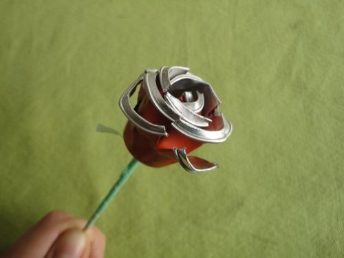 Rosa de Sant Jordi feta amb càpsules Nespresso - tutorial