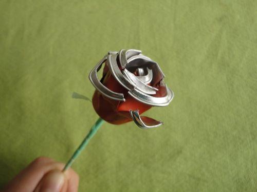Tutorial DIY reciclaje de capsulas nespresso en rosa de Sant Jordi