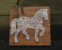horse string art - Google Search