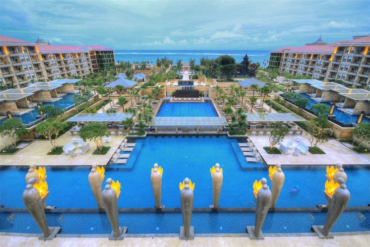 Mulia Resort swim up bars bali kids guide