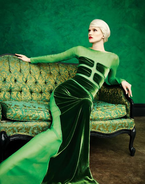 Art of Fashion featuring Tom Ford. Photographed by Erik Madigan Heck. #kellywearstler #myvibemylife #green