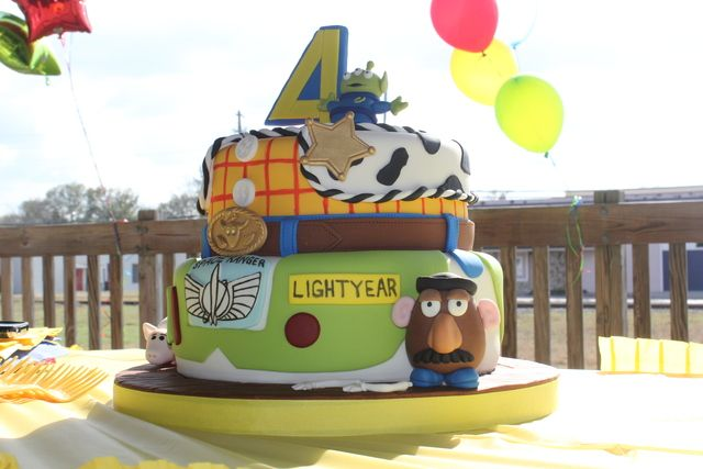 Cake from a Toy Story #toystoryparty #cake
