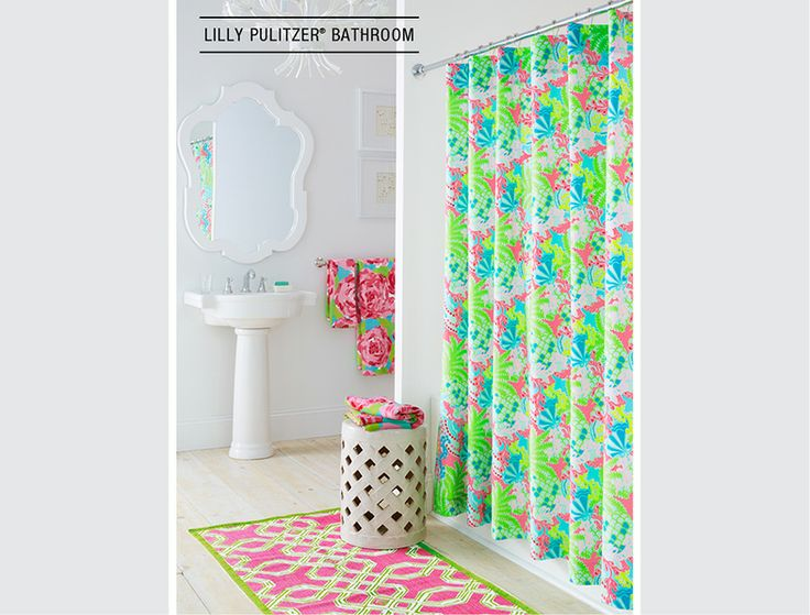58 best morristown apartment images on pinterest lounges for Lilly pulitzer bathroom