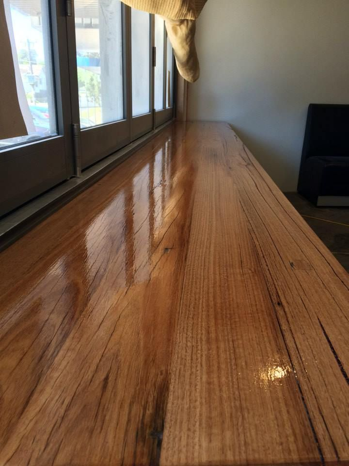Kenney Pierce Timber  - Made Recycled Messmate Timber Bench and Counter tops  for 'Leaf and Vine' Cafe in Ringwood. Visit them on facebook: https://www.facebook.com/leafandvinecafe