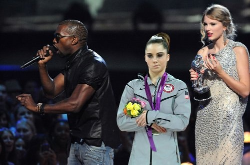 """Yo Taylor, I'm really happy for you.  I'm gonna let you finish, but McKayla Maroney had one of the best vaults of all time.""    McKayla Maroney meme"