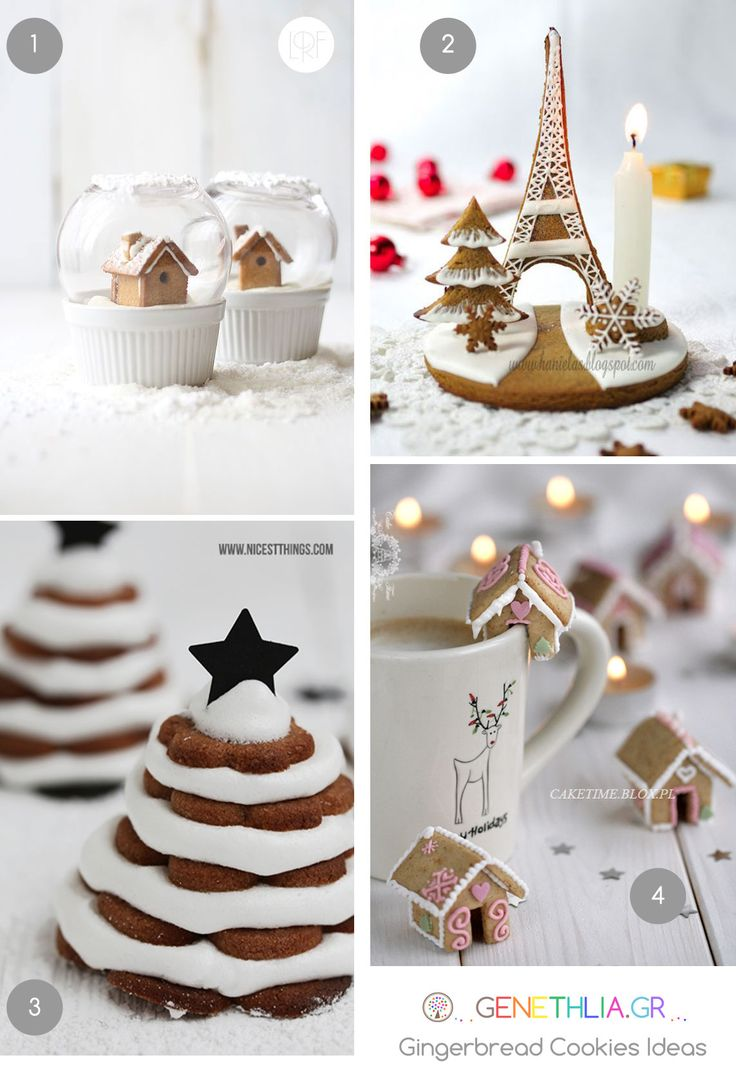 πρωτοτυπα μπισκοτα gingerbread -gingerbread cookies ideas