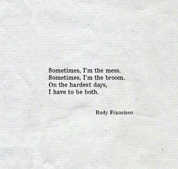 Rudy Francisco.