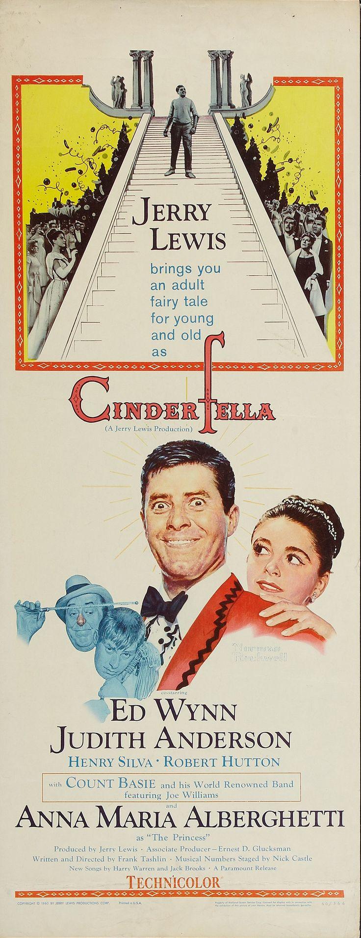 Cinderfella (1960) Stars: Jerry Lewis, Ed Wynn, Judith Anderson, Henry Silva, Anna Maria Alberghetti ~ Director: Frank Tashlin
