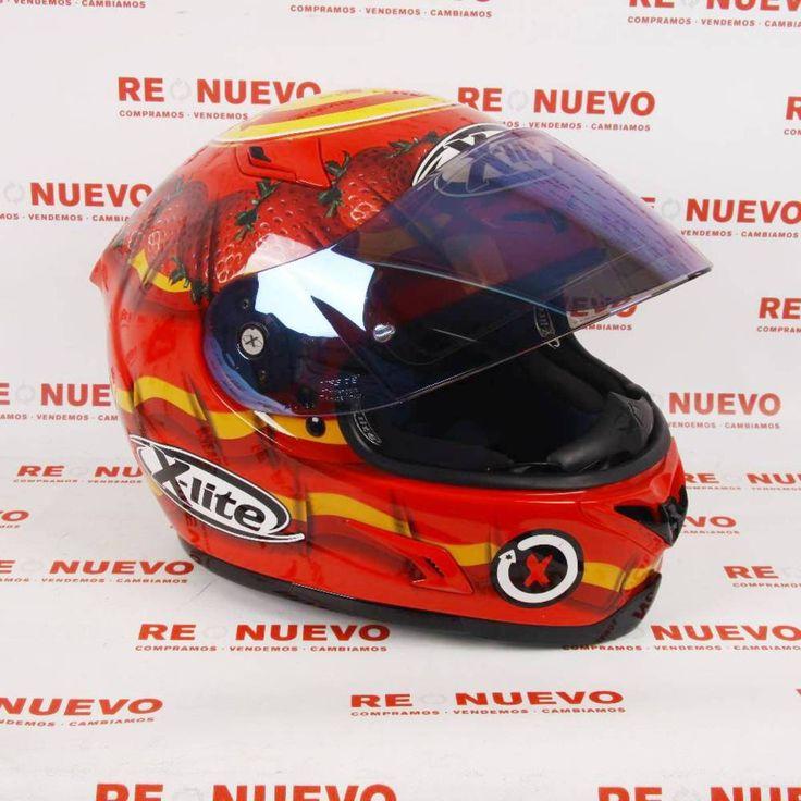 #Casco de moto #JORGE LORENZO E271200   Tienda online de segunda mano en Barcelona Re-Nuevo #segundamano