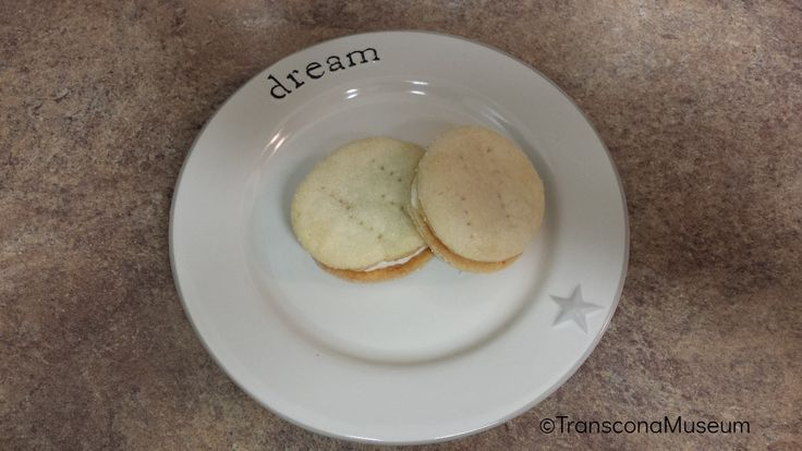 Cream Wafers - Re-creating recipes from the 1964 Cook Book published by the Transcona News.
