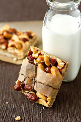 Honey Nut Bars...<3