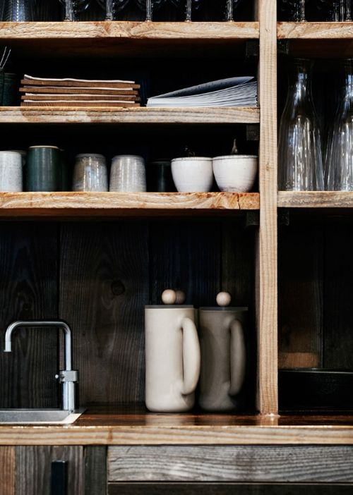 beautiful shelving for kitchen | #kitchen #storage