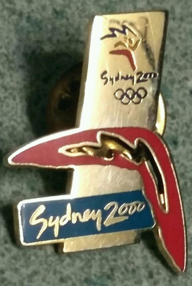 #Sydney #Olympics 2000 Pin Souvenir Travel Memory Hatpin #Australia Olympic Flame