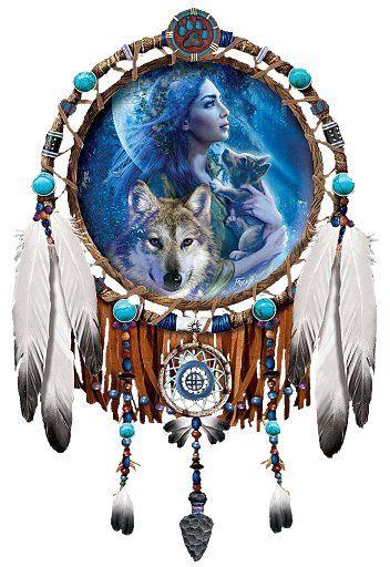 native american art | Second Life Marketplace - Wall Art - Native American - Moonlight