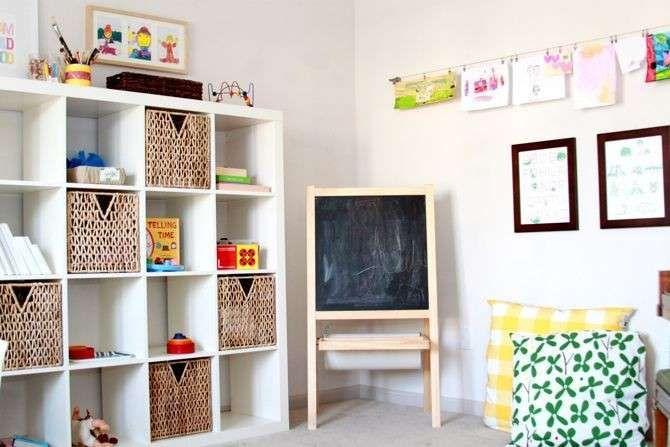 Organizzare La Casa A Misura Di Bambino Camere Da Bambino Camere Giocattolo Stanza Di Gioco Dei Ragazzi