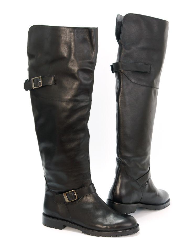 stivali uomo Runnerbull stile biker al ginocchio - overknee biker style Runnerbull man boots
