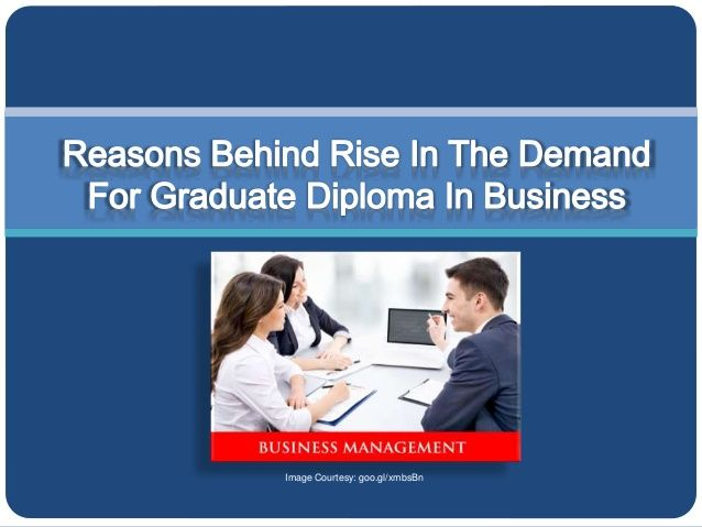 For students who wish to pursue their career in business, undertaking graduate diploma in business is the most effective way.