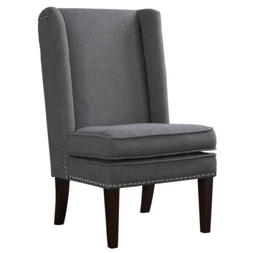 15 best Wing chair images on Pinterest : 7066d2dddd03b73e1043ca4610eaa7a7 gray fabric room chairs from www.pinterest.com size 500 x 500 jpeg 18kB