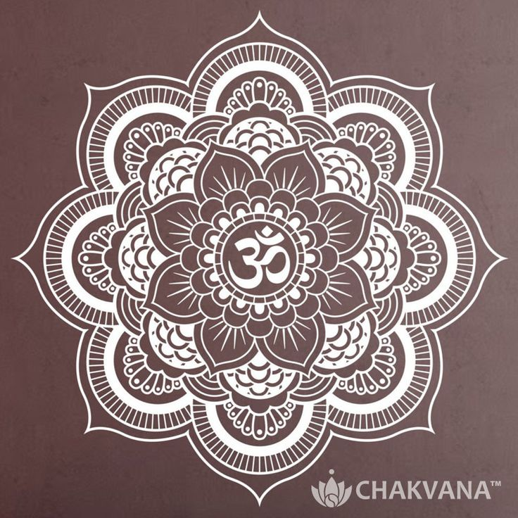 Made of quality self-adhesive, vinyl transfer tape, this Om Lotus Mandala Wall Decal Sticker is a beautiful piece to bring spiritual warmth to your abode. FEATURES: - The Om Lotus Wall Decal Sticker c