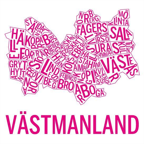 Västmanland i färgen rosa