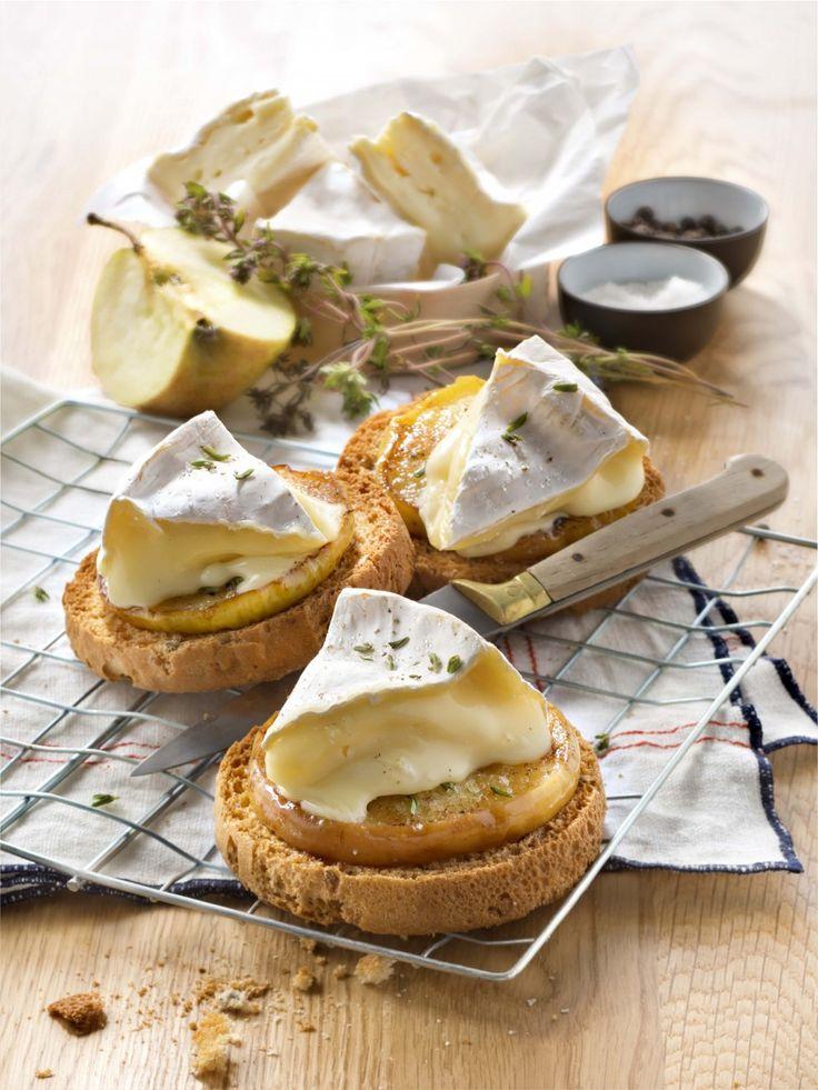Normannische Sandwiches mit Heudebert® – © Sucré Salé   – Michèle Pageau
