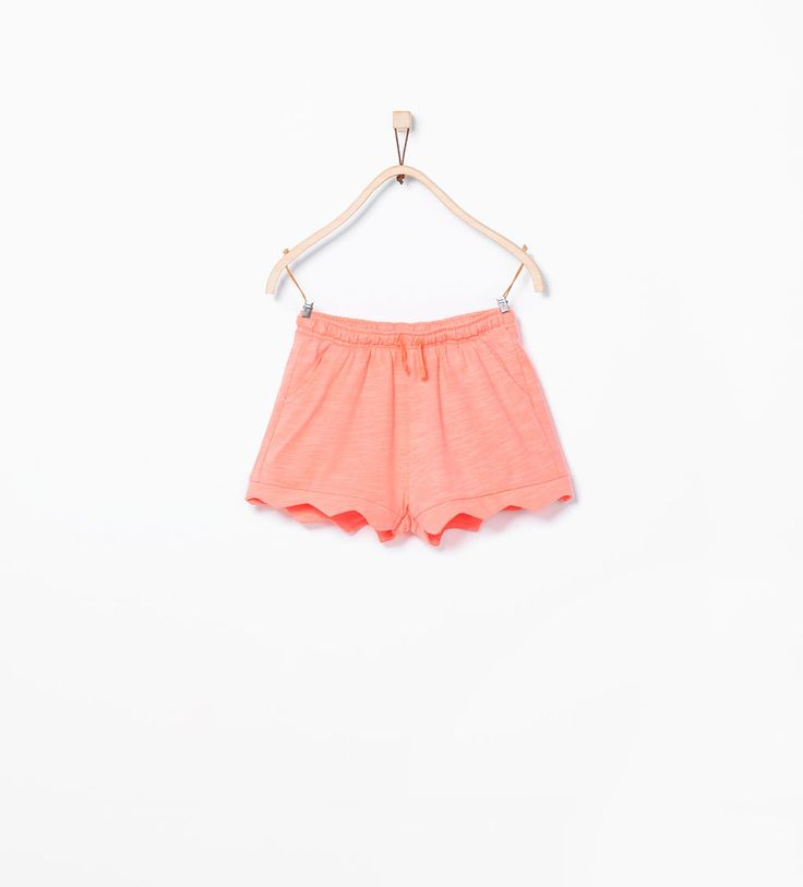 Organic cotton wavy shorts from Zara £5.99