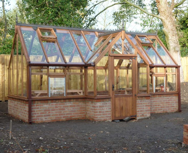 Greenhouse Garden Design
