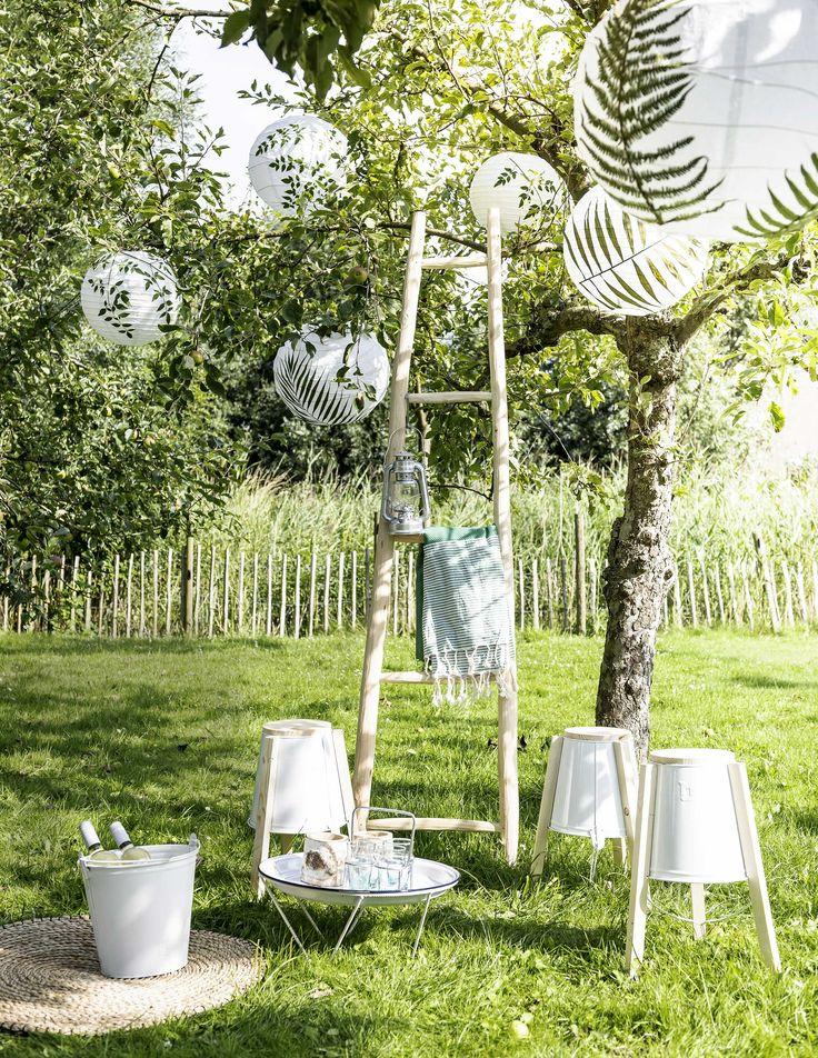 DIY: bladerlampions | DIY: leaf lanterns | vtwonen 05-2016 | photography: Sjoerd Eickmans | styling: Gieke van Lon & Lotte Dekker