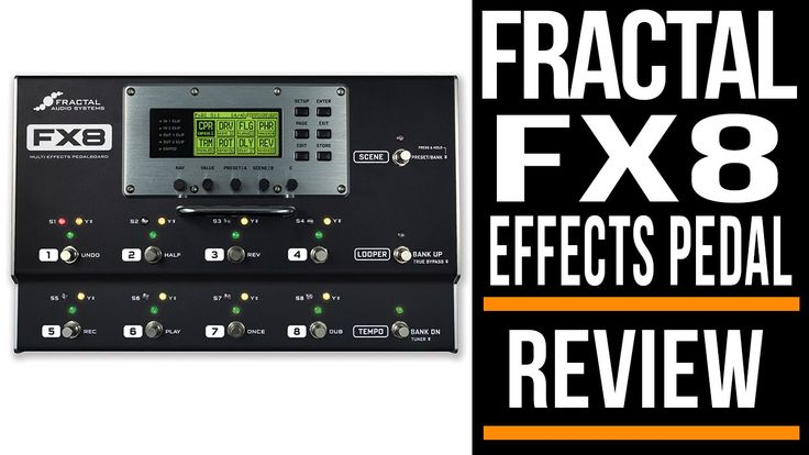 Fractal Audio FX8 Multi Effects | Review