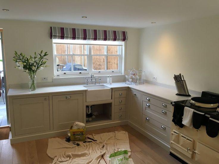 Gloss white bianco carrara marble quartz worktops - Authentic concepts kitchen bath design ...