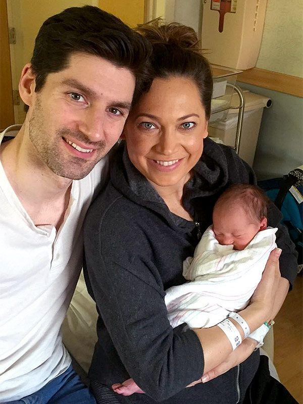 Ginger Zee Welcomes Son AdrianBenjamin http://celebritybabies.people.com/2015/12/20/ginger-zee-welcomes-son-adrian-benjamin/