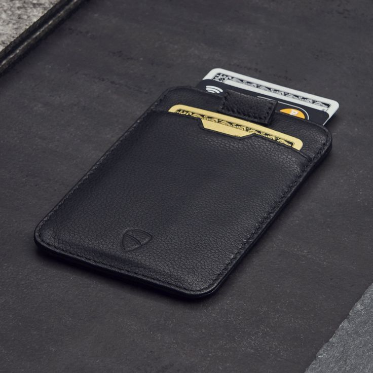 Chelsea slim card sleeve mens wallet with rfid protection