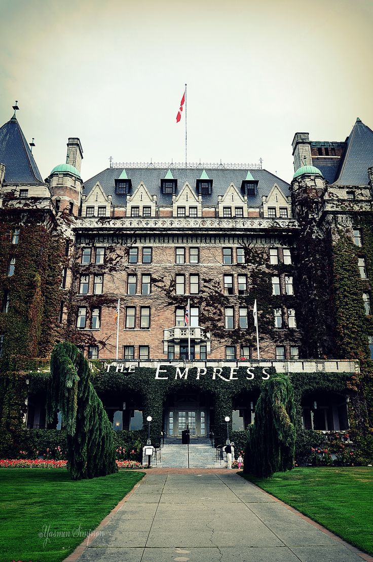 The Empress Hotel. Victoria BC Canada Visited around 1981 or 1982 with a group of friends.