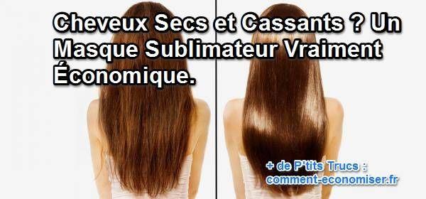 Les colorations à répétition ont attaqué vos cheveux ? Heureusement, j'ai découvert une recette naturelle de grand-mère pour les nourrir intensément, avec seulement 3 ingrédients.  Découvrez l'astuce ici : http://www.comment-economiser.fr/cheveux-secs-cassants-masque.html?utm_content=buffer570d8&utm_medium=social&utm_source=pinterest.com&utm_campaign=buffer