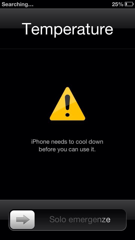 So my Fiance's mum loves to sunbathe so after work I sat and we talked whilst getting crisp. Went to check my phone and I got locked out because the poor thing was too hot, but I couldn't even touch it due to it being on fire!