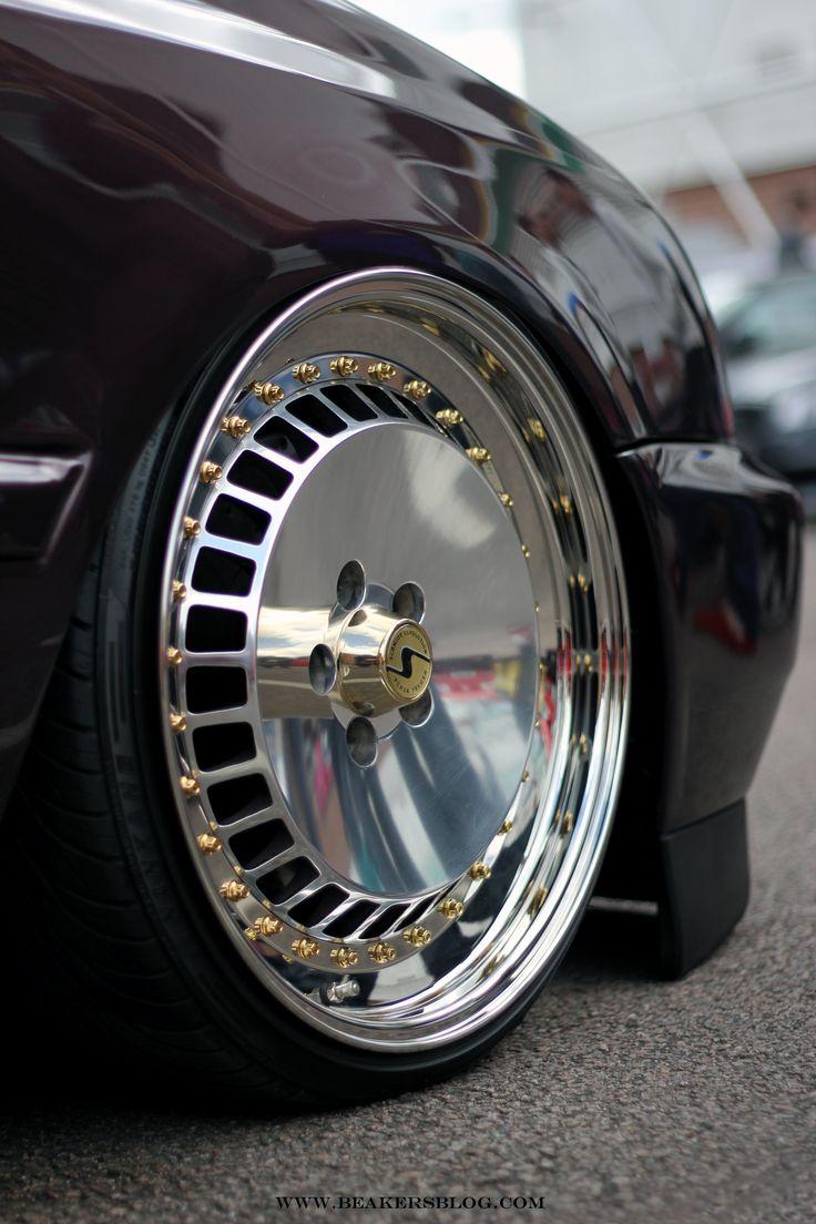 Triple Gold Dayton Wire Wheels