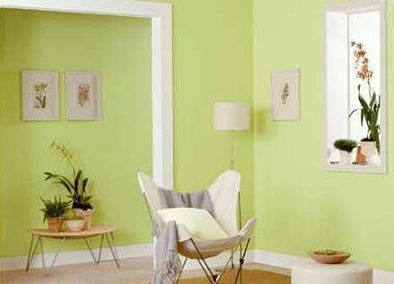 El color verde en la decoración | El rincón de Sonia