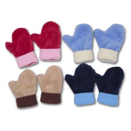 Zimní fleecové rukavice od českého výrobce SPARK. #děti #zima #fashion