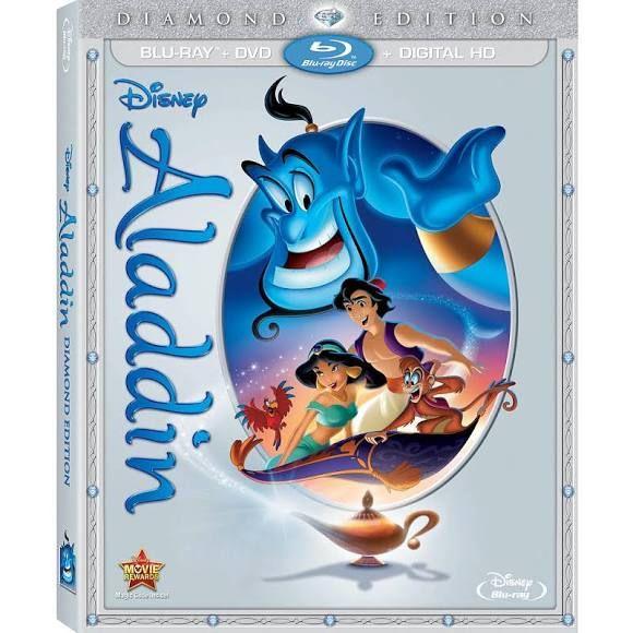 Aladdin Diamond Edition Blu-Ray (Blu-Ray/DVD/Digital HD)