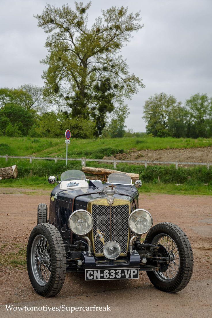 Mg p 1932 retro carsvintage